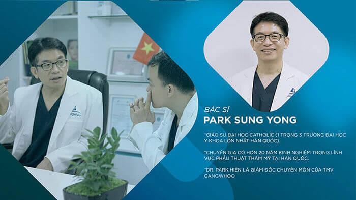 GS_BS. Park Sung Yong chuyên gia đào tạo thẩm mỹ hàng đầu